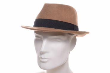 Faustmann Woll Trilby camel