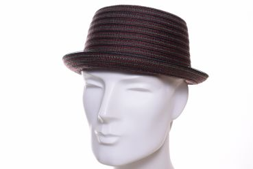 Stetson Pork Pie Stripe rot/bunt