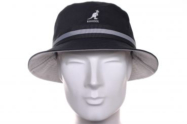Kangol Stripe Lahinch Bucket hat schwarz