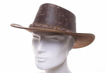 Scippis Springbrook Leather hat tan