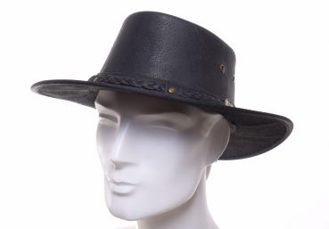 Scippis Springbrook Leather hat schwarz