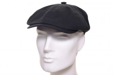 Stetson Brooklin Canvas Summer schwarz