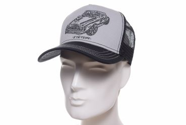 Stetson Trucker cap Muscle Car schwarz