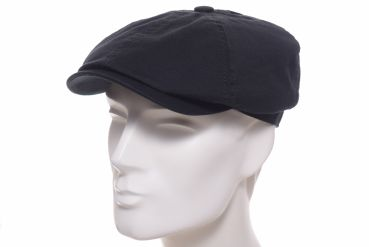 Stetson 6-Panel Twill Ballonmütze Cotton schwarz