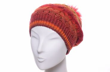 Gebeana Bommel Beanie orange