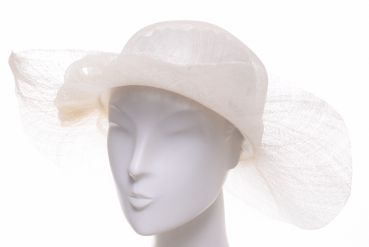 Seeberger Sinamay Flapper ivory