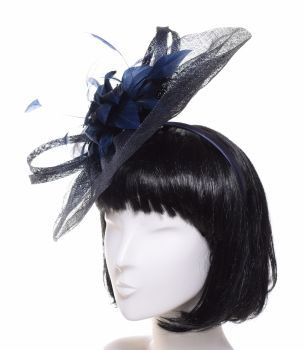 McBurn Urban Princess Fascinator dunkelblau