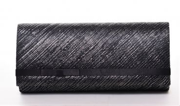 Seeberger Clutch black/grey