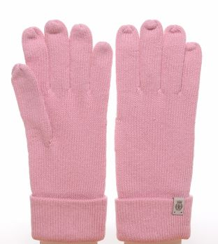 Roeckl Strickhandschuh Essentials Basic rosa