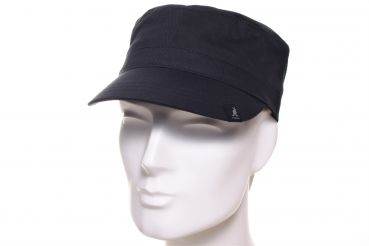 Kangol Cotton Adjustable Army Cap schwarz